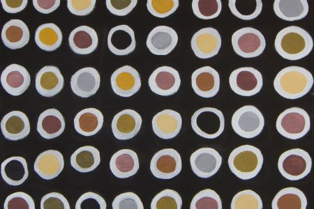 BN 5951-18 Brenda Ningarmara Gerany 2018 natural pigment on canvas 60x80cm