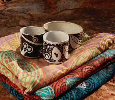 Gloria ceramic plates and textiles Mirima 2018.JPG