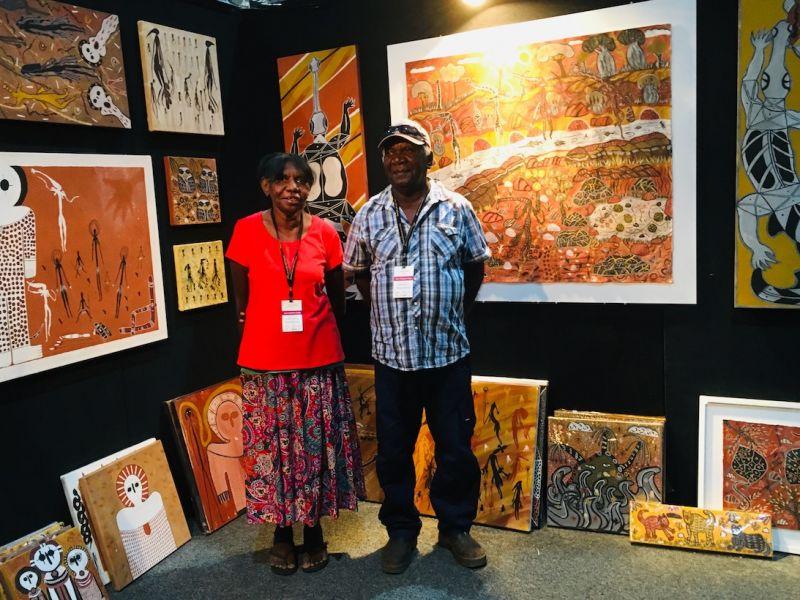 Betty and Dennis at art fair.jpg