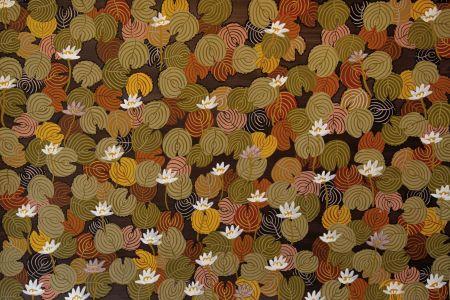 Jan Griffiths Woorrilbem natural pigment on paper 102x153cm